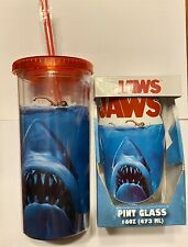 Jaws Pint Glass And Tumbler