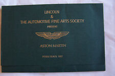 austin martin owners sales brochure pebble beach automotive fine arts society