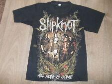 Slipknot Authentique Officiel Tournée américaine 2009 T-shirt Taille S 34, métal, rock,