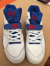 Nike Air Force 180 Taglia 9 Blu/Bianco No.34 nuovo mai indossato.