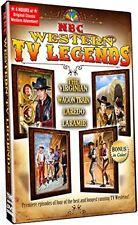 New: NBC WESTERN TV LEGENDS - (The Virginian, Wagon Train, Laredo, Laramie) DVD