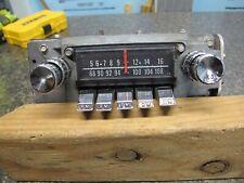 1964 Mercury Am/Fm Radio - F4Tbm Very Clean Rare Find !