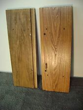 TEAC A-7300 / AMPEX CUSTOM MADE   TAPE DECK SIDE PANELS-SPECIAL