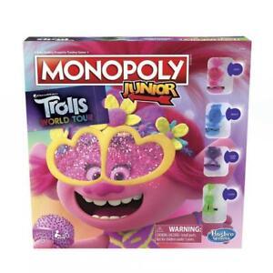Monopoly Junior DreamWorks Trolls World Tour Edition Board Game