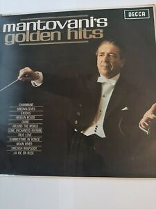 MANTOVANI'S - GOLDEN HITS - VINYL ALBUM / LP