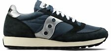 Saucony Trainers Jazz Vintage Original Mens Blue Navy Silver SNEAKERS UK 8