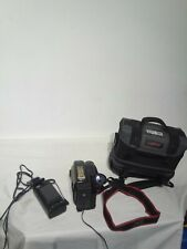 Jvc Compact Vhs Camcorder Gr-hf700 Hi-fi Stero 12x Hyper Zoom,Case & battery