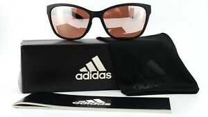 ADIDAS Sonnenbrille a428 00 6052 58-15 140 Sun Excalate Black Matt Sport Wrap