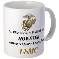 UNITED STATES MARINE CORP ORDER OF THE DEVIL DOGS SUBLIMATED 11oz COFFEE MUG CUP