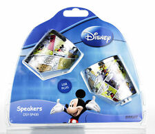 Disney Mickey Mouse Portable USB Speakers for PC Laptop MP3  DSY SP430 NEW