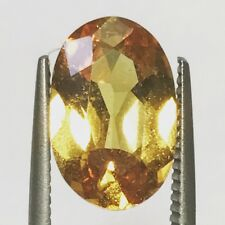 Natural 3.21 Carat Unheated Yellow Sapphire Oval Genuine Loose Gemstone