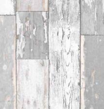 Klebefolie Holzdekor Möbelfolie Holz Scrapwood grau hell 0,90m x 15m Dekorfolie