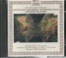 Pergolesi: Laetatus Sum, Salve Regina, Etc. / Maestri, Lucarini, Banditelli - CD