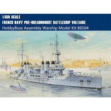 HobbyBoss 86504 1/350 French Navy Pre-Dreadnought Battleship Voltaire Model Kits
