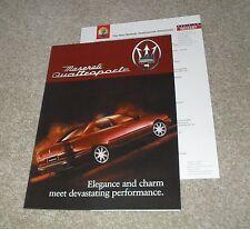 Maserati Quattroporte GT Brochure 1998