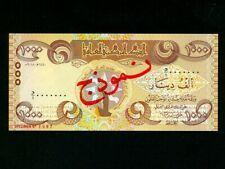 Iraq:P-NL,1000 Dinars,2018 * Specimen * World Heritage 2016 * UNC *