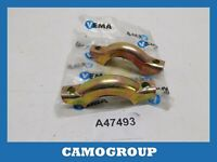Pair Brackets Silencer Exhaust System Holder Vema FIAT 127 Fiorino Panda 4092097