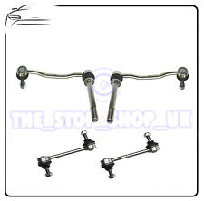 Peugeot 407 all Front & Rear Suspension Anti Roll Bar Drop Link Rods Bars