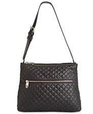Tommy Hilfiger Women's Pauletta Convertible Hobo Black One Size Retail $118