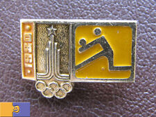 Moscow 1980 XXII Summer Olympic Games VOLLEYBALL Pictogram Logo Soviet PIN Badge