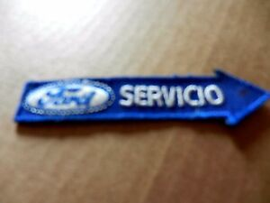 "FORD SERVICIO (FOREIGN) CLOTHING PATCH, NEW, 4"" X 1"""