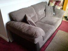Jumbo Cord  Large 2.5 Seater Sofa, Taupe