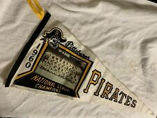 Pittsburgh Pirates 1960 Pennant Flag National League Champions Pennant Flag Team
