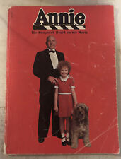 Used Book ~ Annie The Story Book Based On The Movie 1982