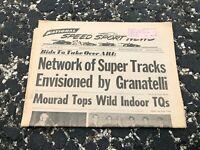 JAN 28 1970 NATIONAL SPEED & SPORTS NEWS car racing newspaper - GRANATELLI