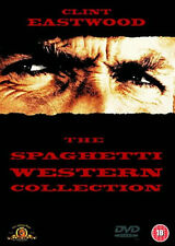 THE SPAGHETTI WESTERN COLLECTION DVD Clint Eastwood Gian Maria UK Rel New R2