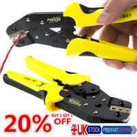 Pro Wire Crimper Engineering Ratchet Terminal Crimping Pliers Tool 0.14-1.5mm² Q