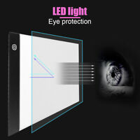 A4 LED Drawing Light Graphic Tracing Tablet Pads Board Diamond Painting Tools