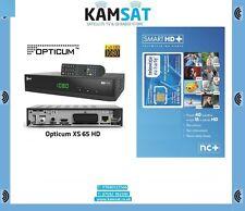 TELEWIZJA NA KARTE 2 MIESIAC FREE NC+ SMART HD DEKODER TUNER OPTICUM XS65