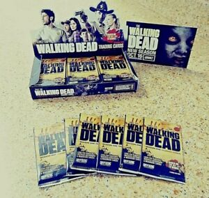 WALKING DEAD Season 1 PACK Of TRADING CARDS, RARE, 100% New/Sealed UNLIKE OTHERS