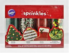 WILTON 'Sprinkles' Holiday Sprinkles Set zum Verzieren 491 gr Original aus USA