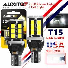 Auxito Canbus Error Free Led Bulb Back Up Reverse Light 921 W16w T15 White 6500k