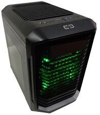 CASE MICRO ATX PER PC CORTEK BIGCUBE CORBC1 USB 3.0 SENZA ALIMENTATORE LUCE VERD