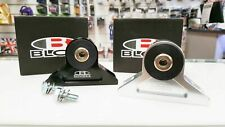BLOX Racing Billet Engine Torque Mount Black Mitsubishi EVO 7 8 9 GSR MR IX