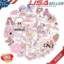 35Pcs Girls Vsco Hydro-Flask Cute Sweet Cartoon Stickers Waterproof Stickers Toy