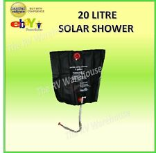 Solar Shower 20 Litres New Caravan Camping RV Boat Accessories Holiday Parts