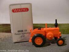 1/87 Wiking Pampa Tractor naranja 0880 49