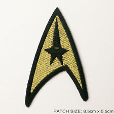 "STAR TREK - Classic Series ""Gold Command"" Starfleet Crew Insignia Patch..."
