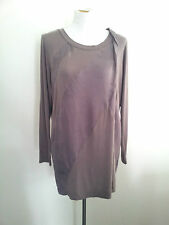 Effortless And Easy! Sandwich size S taupe modal blend tunic top NWT RRP $169