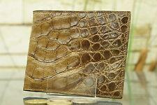 """KRALLE"" Geldbeutel/Portemonnaie Krokodlils-Leder. Wallet, crocodile, NEW! 1527"