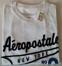 Aéropostale T-Shirt  New York No.9  Weiß  Größe M  Neu mit Etikett  NY#9