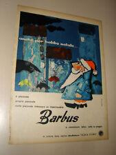 BARBUS ABBIGLIAMENTO BABBO NATALE=PUBBLICITA=ADVERTISING=WERBUNG=ANNI '50=699