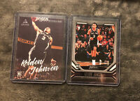 2019-20 Panini Chronicles Keldon Johnson Rookie Lot Luminance & Playbook Rc