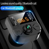 1PC Bluetooth Car FM Transmitter MP3 Player Hands Free Radio Adapter USB Charger