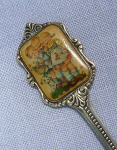 vtg 1984 HUMMEL Souvenir Spoon ars silverplated For Mother 3 children W Germany