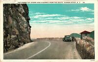 Vintage Postcard - Unposted Storm King Mountain Hudson River New York NY #3321